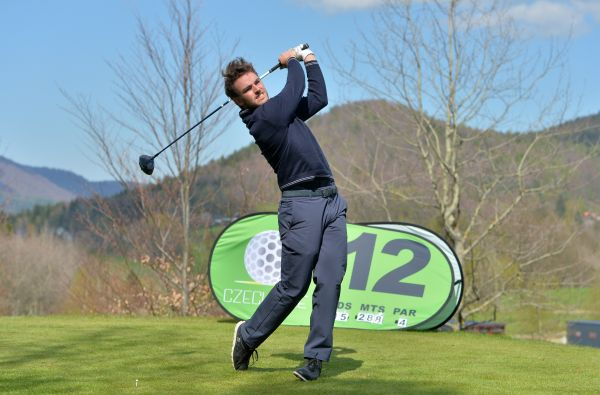 M. Walz of Germany - Leader of EXTEC ProGolfTour by CzechOne after Day 1